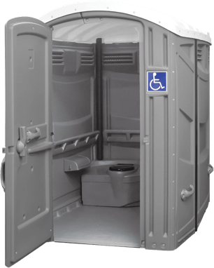 ADA (Americans with Disability Act) portable toilets