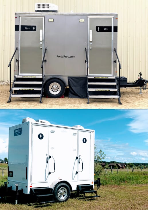 Executive Restroom Trailers Types