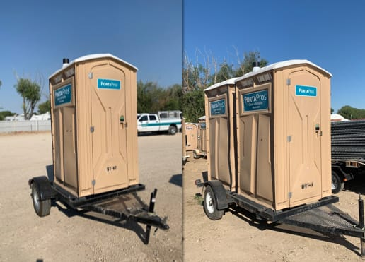 Trailer-Mounted Restrooms Types