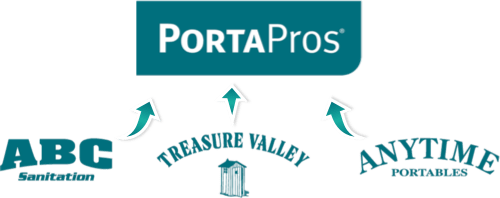 PortaPros logo collage